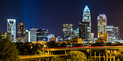 Charlotte Metal Prints - Charlotte NC Metal Print by Brian Young