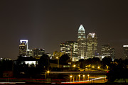 Charlotte Photo Prints - Charlotte Skyline  Print by Bryan  Howland Photography