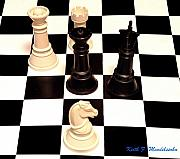 Chess Queen Originals - Check Mate by Keith Mendelssohn