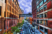 Chelsea Art - Chelsea Street from The High Line by Randy Aveille