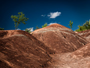 Erode Framed Prints - Cheltenham Badlands Framed Print by Oleksiy Maksymenko