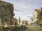 Congress Street Prints - Chestnut St., Philadelphia Print by Granger