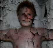 Photo Manipulation Photos - chestPain by David Fox