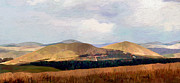 Surroundings Digital Art Framed Prints - Cheviots Framed Print by James Shepherd