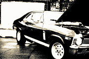 Beautiful Car Framed Prints - Chevy Nova Framed Print by Jayne Logan Intveld