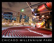 Chicago Originals - Chicago Millennium Park by Nathan Mayberry