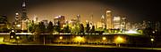 Paul Velgos - Chicago Panorama at Night