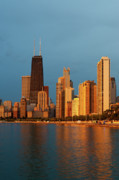 Michigan Prints - Chicago Skyline Print by Sebastian Musial