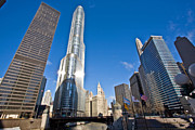 Trump Tower Photos - Chicago Trump Tower by Steve Sturgill