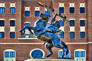 Fsu Framed Prints - Chief Osceola and Renegade Unconquered Framed Print by Frank Feliciano