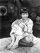 Cushion Metal Prints - Chinatown Charlie, Anna May Wong, 1928 Metal Print by Everett