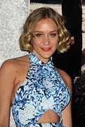 Curled Hair Art - Chloe Sevigny At Arrivals For Big Love by Everett