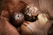 Truffle Prints - Chocolate Print by Kati Molin