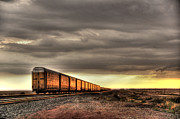 Bnsf Framed Prints - Choo-Choo Framed Print by Robert Crespin