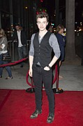 Premiere Posters - Chris Colfer At Arrivals For American Poster by Everett