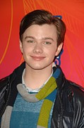 All-star Framed Prints - Chris Colfer At Arrivals For Fox Framed Print by Everett