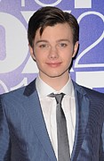 Upfronts Tv Television Network Presentation Posters - Chris Colfer In Attendance For Fox 2010 Poster by Everett
