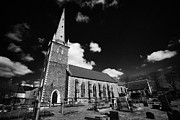 Old Christ Church Prints - Christ Church Cathedral Originally St Thomas Lisburn City Centre County Antrim Northern Ireland Uk Print by Joe Fox
