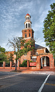 Old Christ Church Prints - Christ Church Episcopal II Print by Steven Ainsworth