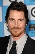 Bale Metal Prints - Christian Bale At Arrivals For 2009 Los Metal Print by Everett