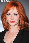 Christina Art - Christina Hendricks At Arrivals by Everett