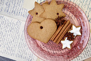 Love Letter Prints - Christmas Gingerbread Print by Nailia Schwarz