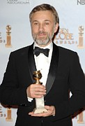 Release Framed Prints - Christoph Waltz In The Press Room Framed Print by Everett
