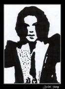Michael Jackson Portrait Painting Originals - Christopher Gaspar by Artist Mony