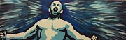 Ufc Paintings - Chuck Liddell  by Neil Roberts