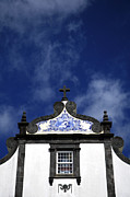 Church In Azores Islands Print by Gaspar Avila