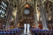 Cathedral Digital Art - Church of England by Adrian Evans
