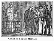 Groom Posters - CHURCH OF ENGLAND, c1830s Poster by Granger