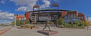 Philadelphia Phillies Stadium Art - Citizens Park Panoramic by Jack Paolini