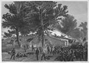 Antietam Framed Prints - Civil War: Antietam, 1862 Framed Print by Granger