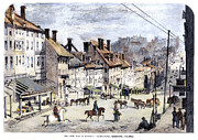 Streetlight Photos - Civil War: Richmond, 1862 by Granger
