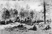 Civil War: Spotsylvania Print by Granger