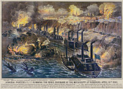 Ironclad Prints - Civil War: Vicksburg, 1863 Print by Granger