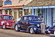 Florence Framed Prints - Classic Car Show Framed Print by Carol Leigh