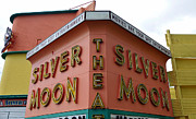Silver Moon Drive In Prints - Classic Drive In Print by David Lee Thompson