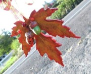 Autumn Sculpture Originals - Clay Sculpture by Sandra Gardner Oropeza