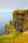 Moher Prints - Cliffs of Moher Print by Gabriela Insuratelu