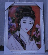 Chinese Artworks Ceramics - Cloisonne Handicraft Painting by Yingchen