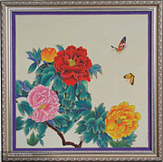Ornamental Ceramics - Cloisonne Painting  by Yingchen