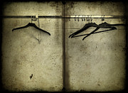 Hanger Framed Prints - Closet Chronicles Framed Print by Evelina Kremsdorf