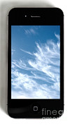 Cellphone Prints - Cloud Computing Print by Photo Researchers