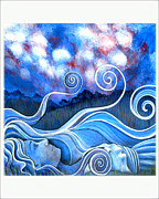 Monica Furlow Framed Prints - Cloud watching Framed Print by Monica Furlow