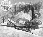 Crested Butte Prints - Coal Mine Explosion, 1884 Print by Granger