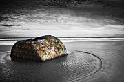 Old Shipwreck Photos - Coastal Scene by Svetlana Sewell