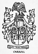 Carroll Prints - Coat Of Arms Print by Granger