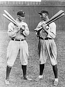 Chicago White Sox Prints - Cobb & Jackson, 1913 Print by Granger